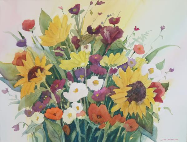 March Flowers by Joan McKasson