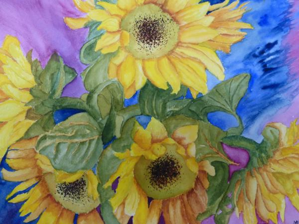 Sunflowers by Mary Hartley