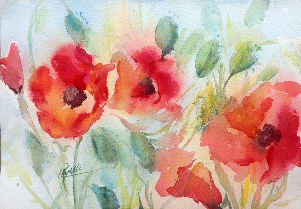 California Poppies by Colleen Reynolds