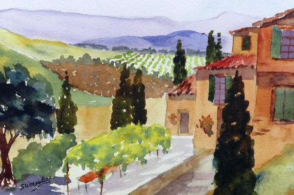 Tuscan View by Susan Wormsley