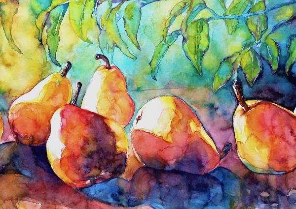 Branching Out With Pears by Susan Keith