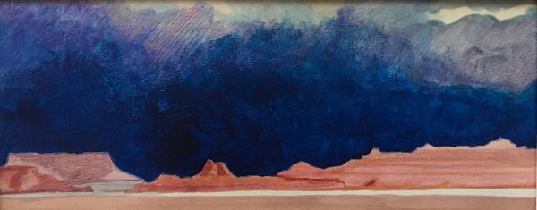 Storm over Redrock Country by Edward Kane