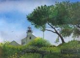 Point Loma Light House by Katarzyna Lappin