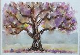 Old Jacaranda by Barbara Crawford