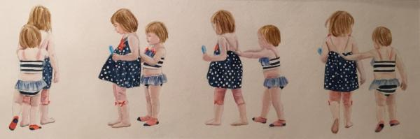 Stripes & Polka Dots-Little Sissies by Karen Kleiser