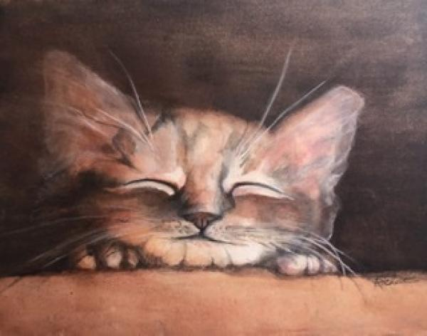 Kitty Nap by Faye Richert