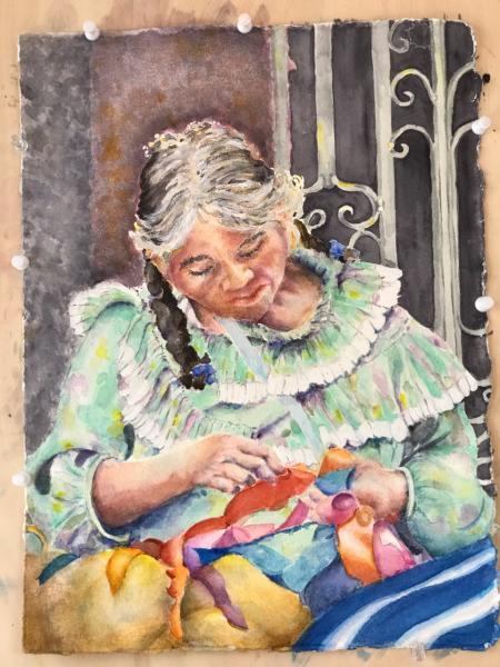 Doll Maker of San Miguel by Mary Williams