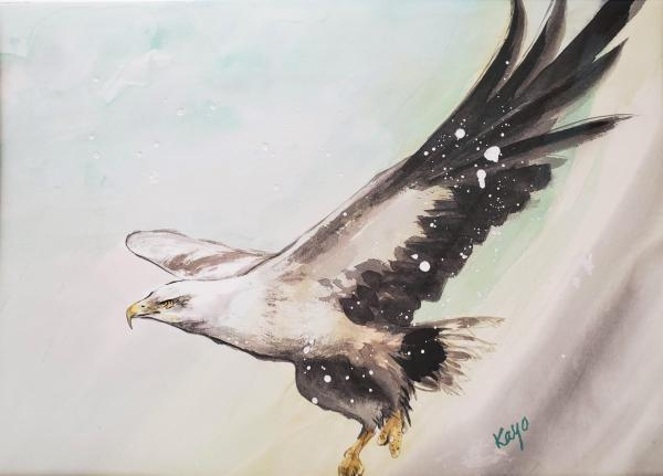 Eagle # 9 by Kayo Beach