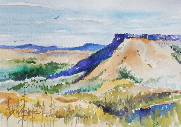 High Desert Buttes by Jami Wright