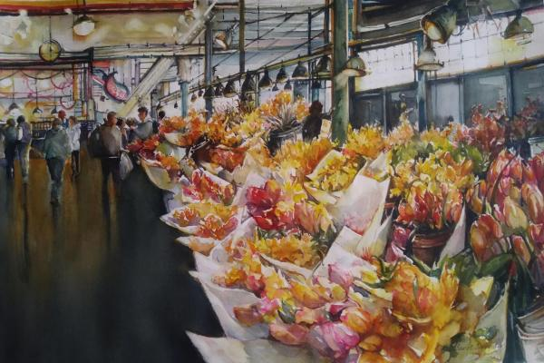 Honorable Mention,  - Pike Place Market by Carol Carpenter