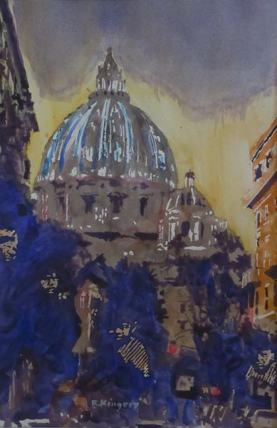 Dark Dome in Rome by Ralph Kingery