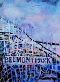 Belmont Park Coastal Eddy by Glory  Giffin