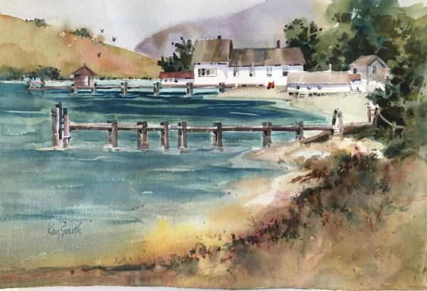 Tomales Bay  by Kay Smith