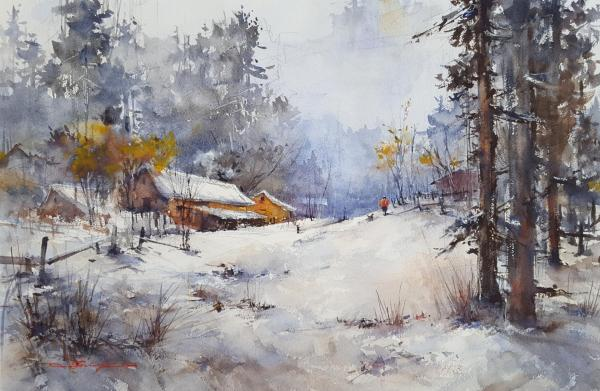 Second Place,  - Winter Wonderland by Shuang Li