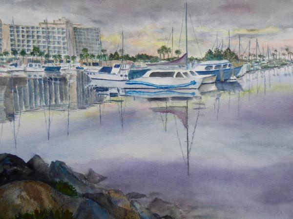 Harbor Island by Linda Bienhoff