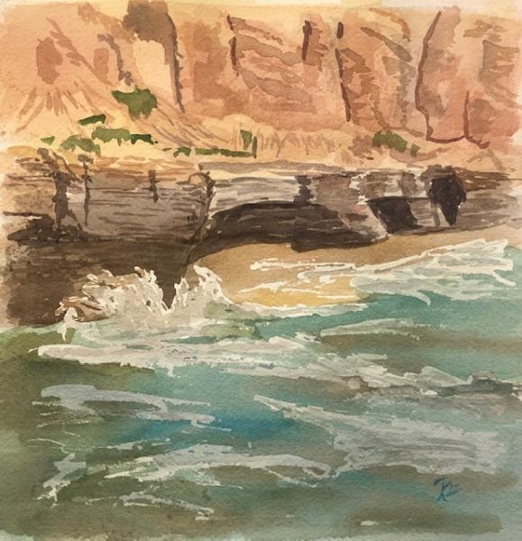 Point Loma Shores by Roz Oserin