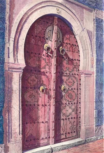 Juror Commendation,  - Doorway in Tangier by Edward Kane