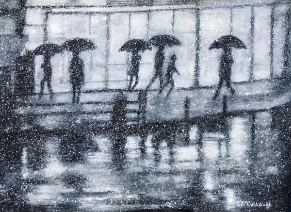 Rainy Reflections by Rebecca McCullough