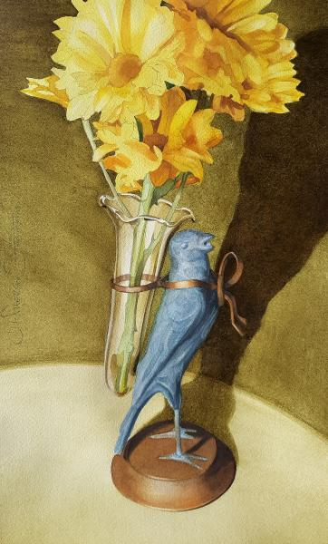 Posy Holder by Chuck McPherson