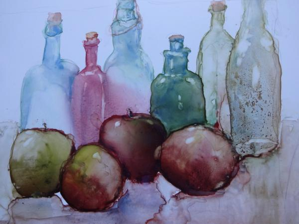 Still Life with Apples by Susan Weinberg-Harter