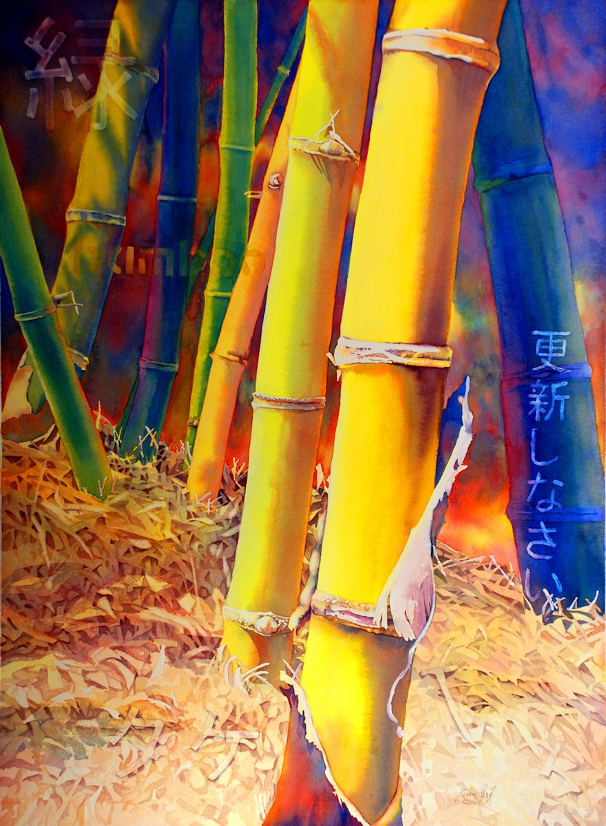 Bamboo Fire by Diane Lary