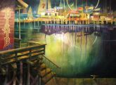 """Newport Nocturne"" by Chuck McPherson - Third Place"