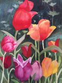 Tulip Time by Diane Deliner