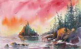 Best of Theme - North Pacific Sundown by Jami Wright