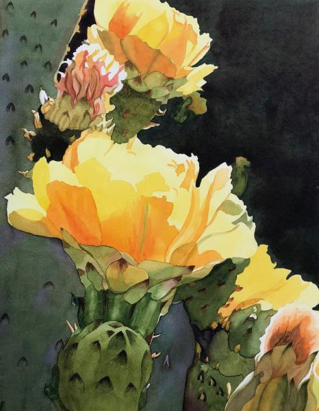 Prickly Pear Glow by Kitty Sturrock