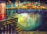 """Newport Nocturne"" by Chuck McPherson"
