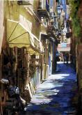 Roberta and Eddie Dyer Award,  - Amalfi Slows by Charles Henry Rouse