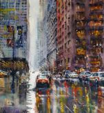 """Chicago Rain"" by Bruce Swart"