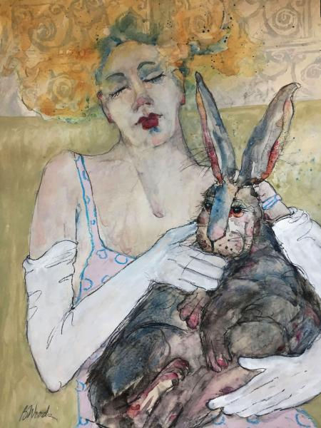 Hare Of My Heart (Award of Merit) by Bonnie Woods