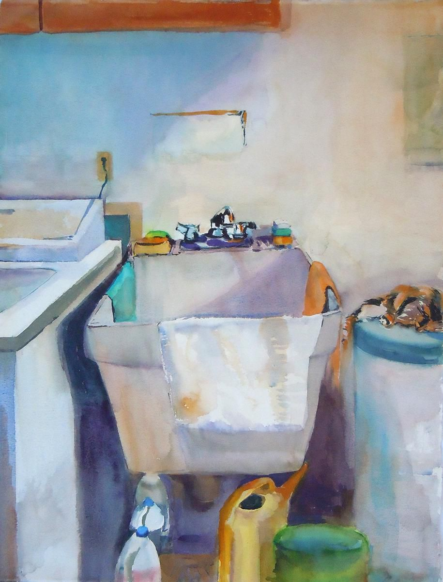 Laundry Room Sink by Sharon E. Rawlins