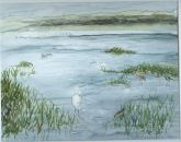 """Wetlands"" By Susan Weinberg-Harter - Honorable Mention  Minitures"