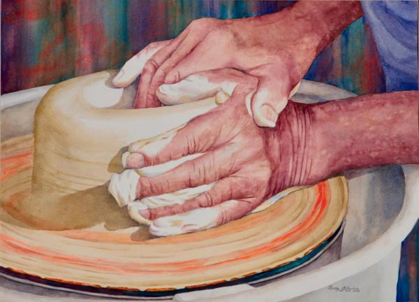 A Master Potter by Betty Blevins
