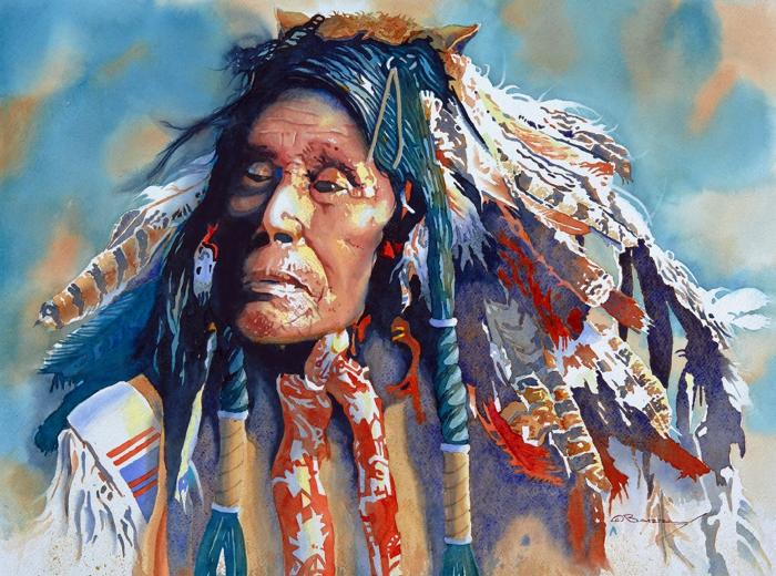 "Barry Sapp, SAWG, ""The Sacred Headdress"" | Wayne S. Julien Award"