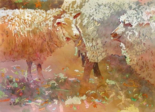 Peggy Spanninga MemorialCash Award - Warm and Woolly by Judi Betts