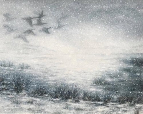 Misty Flight by Rebecca McCullough