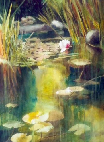 Jurors Commendation - Fusion Pond by Chuck McPherson