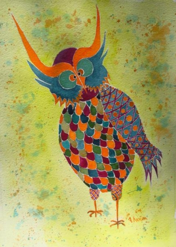 Colorful Critter:  The Oogling Owl by Alice Kayuha