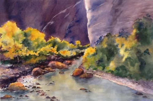 Autumn in Canyon de Chelly by Sandra Seckington