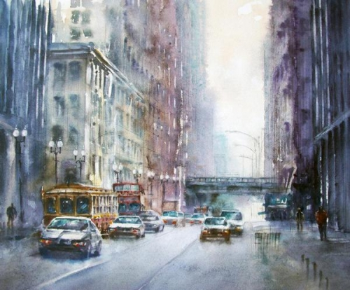 November City by Bruce Swart