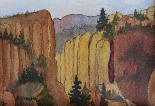 Monument Canyon by Susan Wormsley