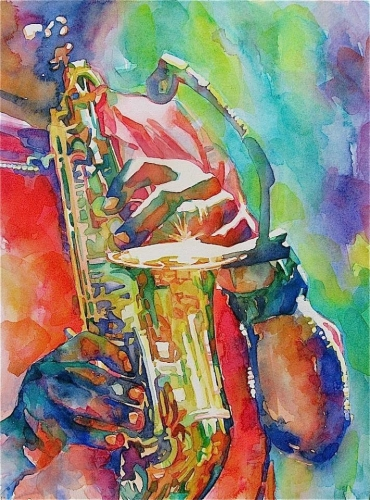 The Color of Jazz by Susan Keith