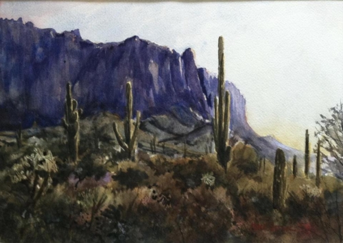 Superstitions, AZ by Mike Hefner