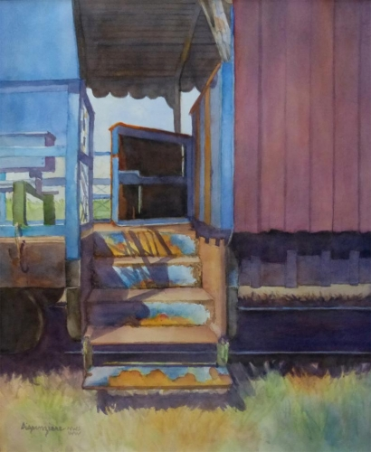Honorable Mention - All Aboard by Pat Dispenziere