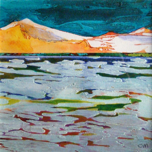 Ice Floe by Carol Mansfield