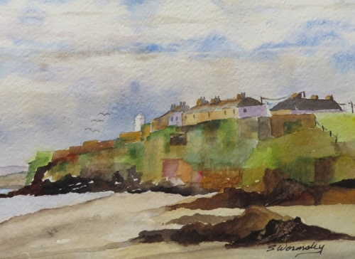 Duncannon Beach by Susan Wormsley