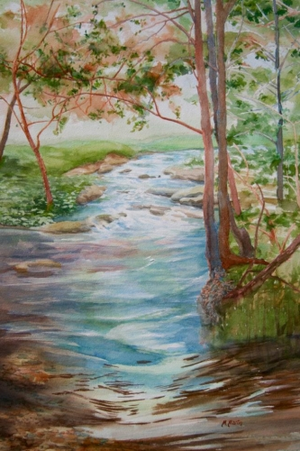 Creekside Memories by Marcella Martin